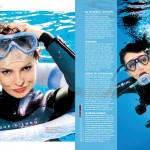 """Dorota Gardias dla miesięcznika """" Happy """" - lipiec 2012r."""