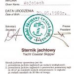 Sternik Jachtowy