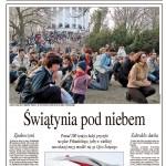 Narodowa Msza Święta żałobna w intencji papieża Jana Pawła II - Gazeta Stołeczna - 6 kwietnia 2005r.