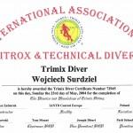 IANTD Trimix Diver