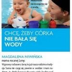 """Basen dla miesięcznika """" Dziecko """" - kwiecień 2012"""