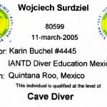 IANTD Cave Diver