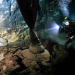 """Jaskinia """" Grotta del Fico """", Sardynia, wrzesień 2009r."""