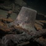 """Dzwon okrętowy, wrak """" Belliver """" - czerwiec - 2012."""