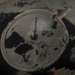 """Telegraf maszynowy, wrak """" Belliver """" - czerwiec 2012."""