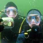 Zaręczyny Małgosi i Piotrka pod wodą - 20 września 2008r.