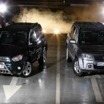 """Test miesięcznika """" Wysokie Obroty """" - Suzuki Grand Vitara vs. Toyota Raw 4. Luty 2004."""